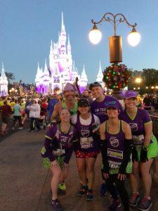 disney magic kingdom; disney marathon 2018, team in training