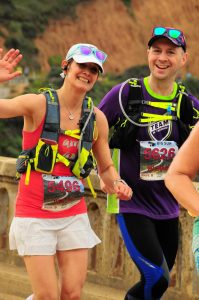 big sur marathon race recap runners on the course