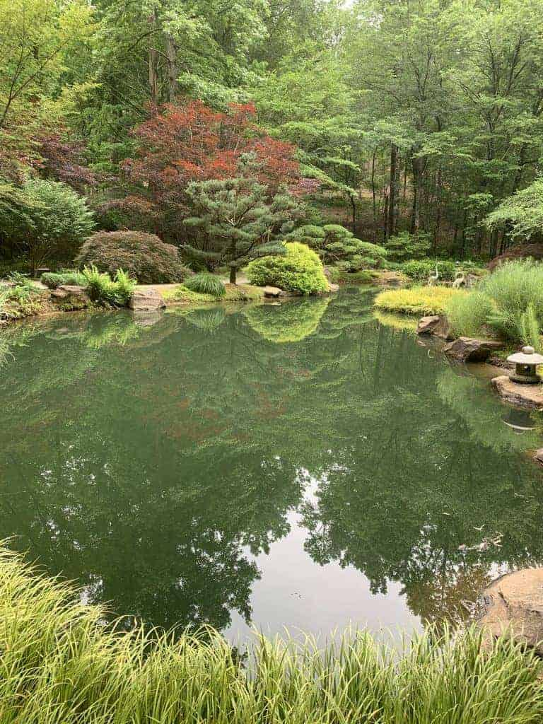 japanese gardens at gibbs gardens near atlanta georgia