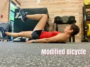 Runner core exercise for fitter faster and improved speed