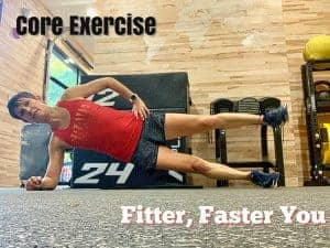 runner core exercise for fitter faster