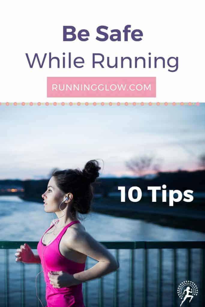 female running alone safety