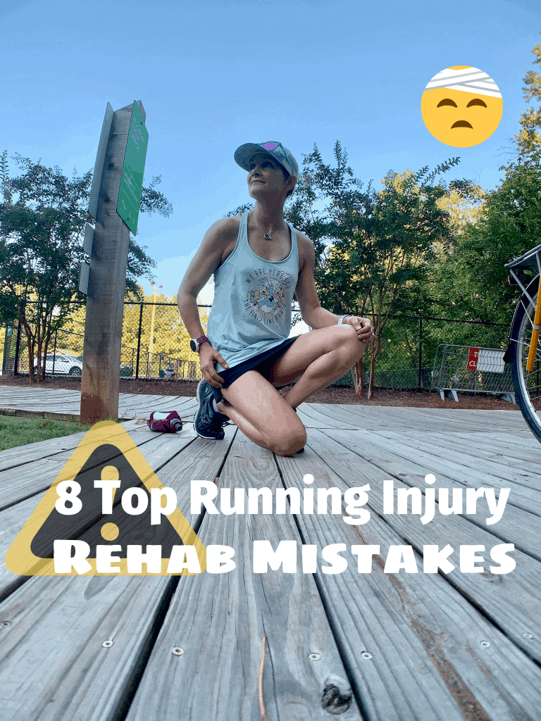 running injury rehab mistakes, #running #runninginjury, rehab for runners