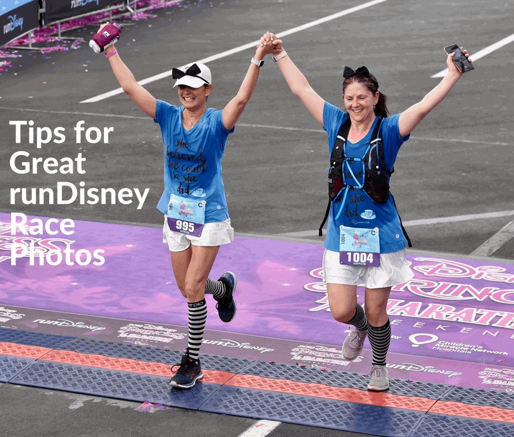 run disney race photo tips #rundisney #runningtips #teamrundisney