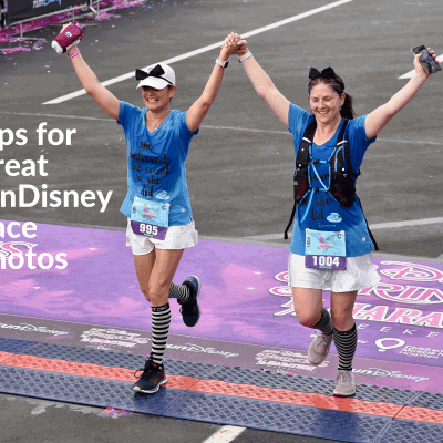tips for rundisney race photos