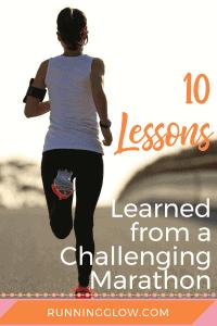 woman running on street marathon runner