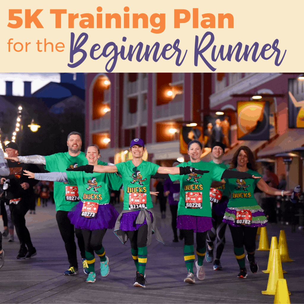 5K training plan for the beginner runner; #rundisney #5Kplan #runningtips #race tips