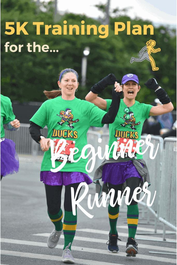 Your first 5K training plan as beginner runner; #5K #runningtips #racingtips