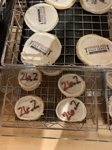 Wegmans Wineglass Marathon Race cookies