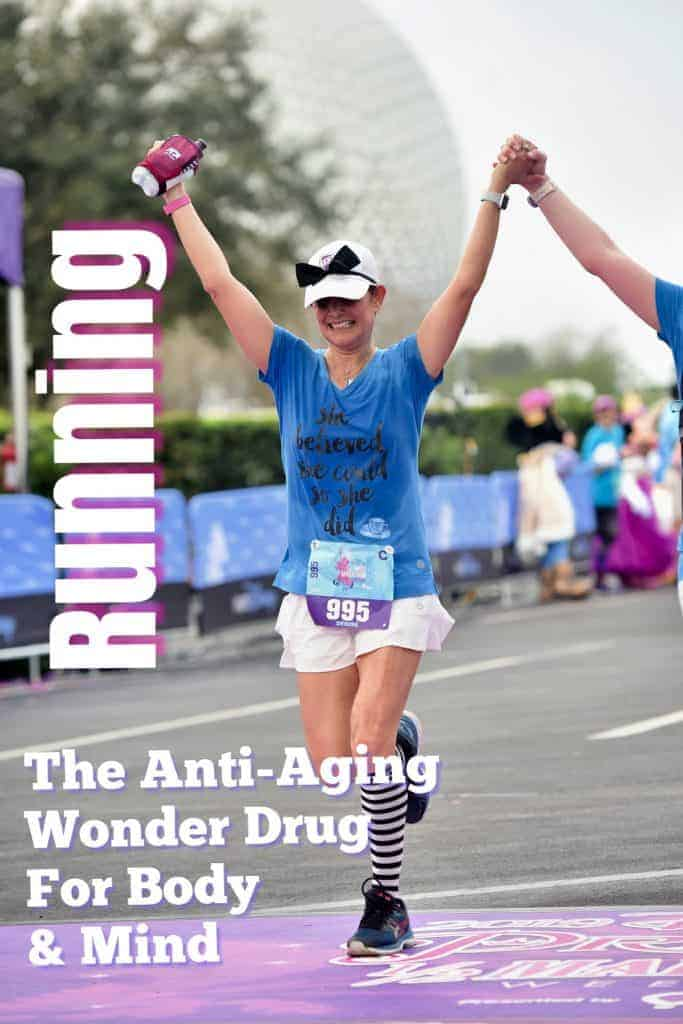 running anti-aging wonder drug mind and body, #running, #runningtips, #goodhealth