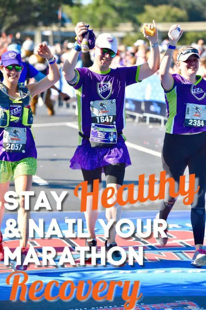 Post Marathon Recovery Stay Healthy; #runningtips #marathonrecovery #running