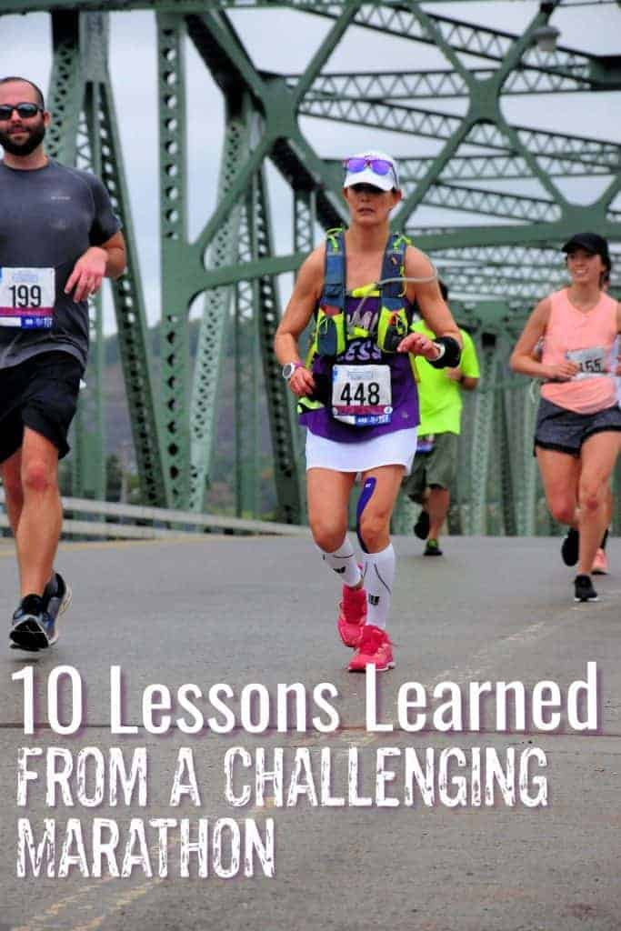 10 tips and lessons learned from a difficult marathon
