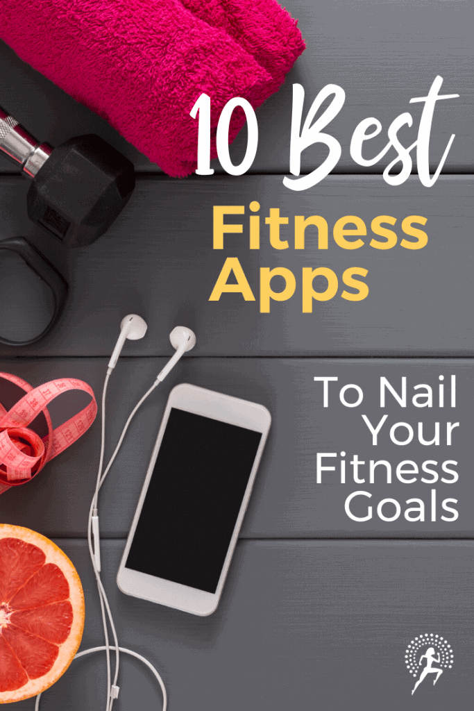 Here are 10 best fitness apps to nail your fitness goals.  Whether the goal is to run  faster or further, slim down, bulkup, get lean, whatever is important to you.  Convenience, plus cost-friendly options to add variety and challenge to your fitness.  #fitnessapps #fitnesstips #fitnessjourney #bestfitnessapps #fitnessgoals #runningglow