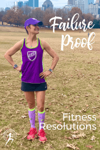 10 tips to make failure proof fitness resolutions.  Whether Jan 1, or any time, strategies to increase your odds of hitting your fitness goals.  #fitnessresolution #fitnesstips #runningtips #runningglow #fitnessgoals #healthgoals