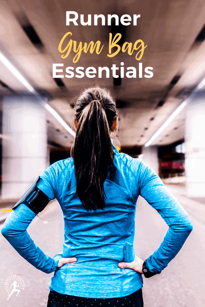 Be prepared for EVERY run by having a runner gym bag with the essentials you need to be safe, comfortable, and prepared for your best run!  #runningglow #running #runninggear #runningtips #fitness