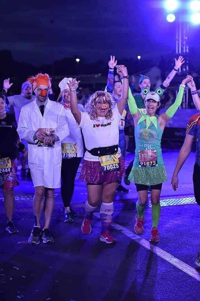 runDisney 5K Disney Marathon Weekend and runDisney Dopey Challenge #running #disneyphotopass #dopeychallenge #rundisney #runningglow