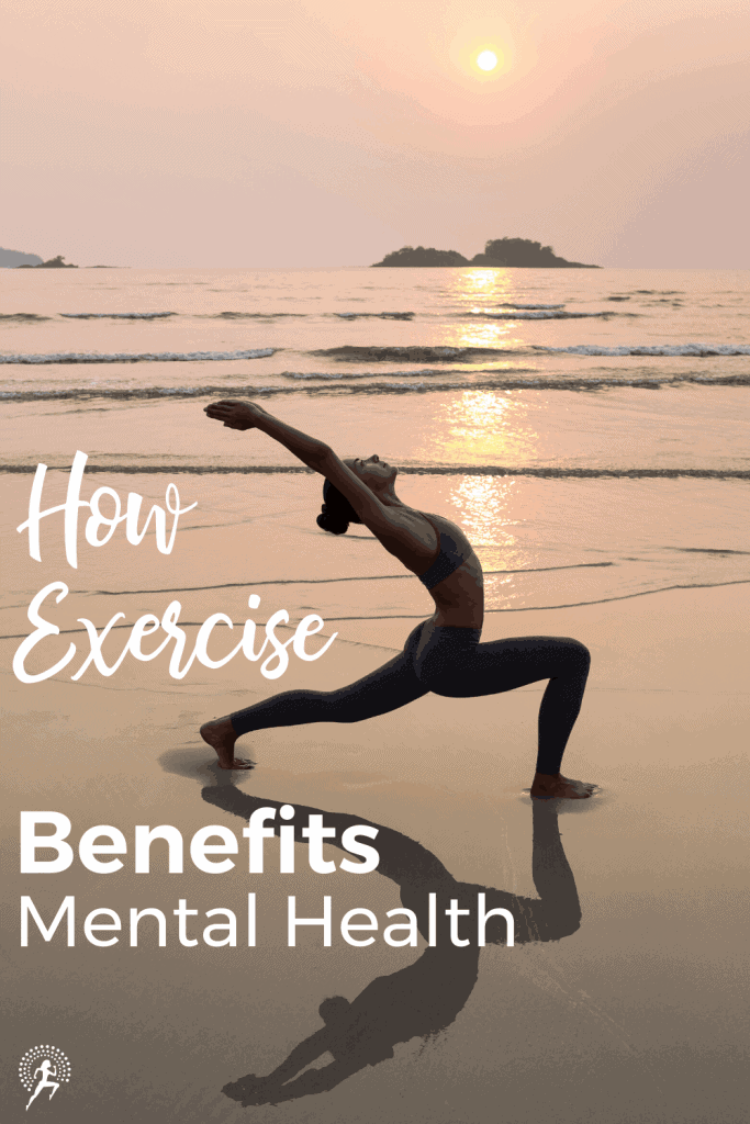 Exercise is one of the most effective ways to improve your mental health.  Read how it improves mood, sleep, cognitive decline, stress, anxiety & depression.#running #runningglow #mentalhealth