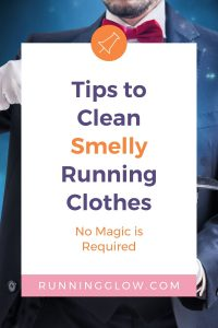 tips to clean workout clothes and a magician
